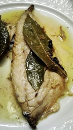 Sgombro in scapece/Caballa en escabeche | Rossotamarindo Seafood Dishes, Fish And Seafood, Seafood Recipes, Panda Food, Fish Pasta, Sicilian Recipes, Healthy Recipe Videos, Love Eat, Aesthetic Food