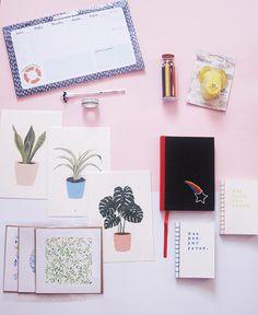 Papelería bonita - #Ideas #libretas #Organizacion