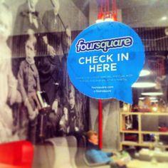 The Coffee Factory Foursquare Special #socialmedia #restaurant #cafe #kawiarnia #foursquare #special #checkin #mayor