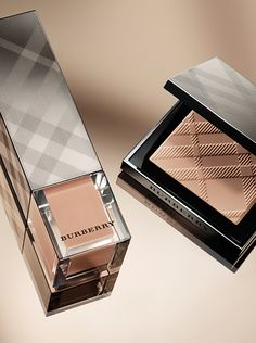 New from Burberry for radiant, flawless skin - Fresh Glow Fluid and Compact Foundation