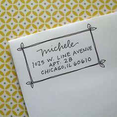 return address envelope