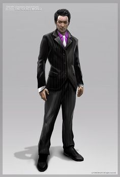 The Secret World - goranjosic Cyberpunk 2020, Cyberpunk Fashion, Fantasy Character, Character Design, Cthulhu, Assassins Creed Outfit, Suit Drawing, Shadowrun Rpg, Modern Suits