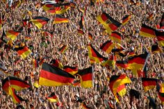 #crowd #flag #football #germany #germany flag #germany football #landesfarben #national colours #nationalism #viewers #world championship