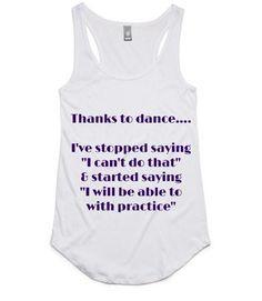 what did dance teach you?