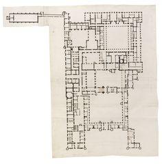 Hampton Court ground floor plan