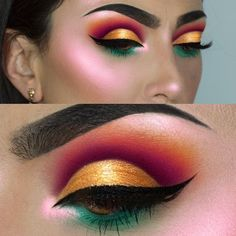 """10.1k Likes, 92 Comments - F R A N C E S C A (@littledustmua) on Instagram: """"FIREPLACE Eyeshadows from @morphebrushes 24G palette launching soon!!!❤️️I used @tartecosmetics…"""""""