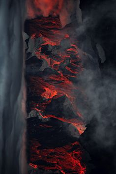 Science Discover alaskated: beantz: original Am I looking at a volcano? Mother Earth Mother Nature Volcan Eruption Red Rising Lava Flow Foto Art Fire And Ice Natural Wonders Nature Photography Mother Earth, Mother Nature, Wallpaper Telephone, Volcan Eruption, Red Rising, Lava Flow, Foto Art, Fire And Ice, Natural Wonders