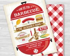 25 best bbq barbecue cookout invitations images on pinterest