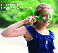 @Girl Scouts of Nassau County Camp Blue Bay presents Bugs Badge Weekend, #LongIsland, #NewYork #GSBadges #GSCamp #Camping #TroopActivities
