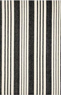 Birmingham Black Cotton Rug
