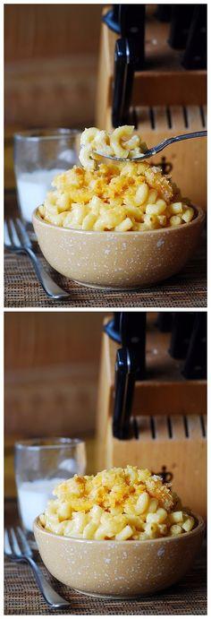 Easy Homemade Macaroni and Cheese