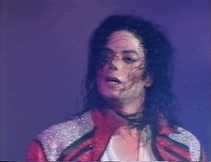 Michael Jackson  ~ Dangerous Tour  ~ Beat It  ~ 1992  What I look like right after a Mikegasm!
