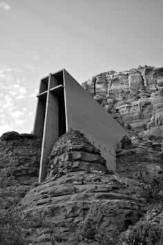 Chapel of the Holy Cross, Sedona by Abbey Leis Photography.
