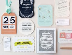 @Minted Silhouettes of save-the-dates #giveaway