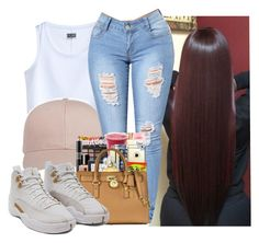 """I love brown manee"" by gmboogie ❤ liked on Polyvore featuring MTWTFSS Weekday"