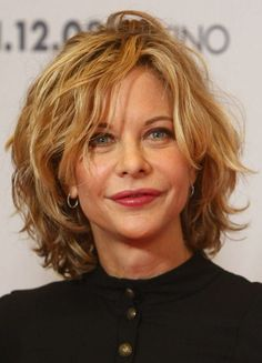 "Meg Ryan Photos - Actress Meg Ryan attends a photocall for ""The Women"" at the Hotel de Rome on November 2008 in Berlin, Germany. (Photo by Sean Gallup/Getty Images) * Local Caption * Meg Ryan - The Women Photocall Layered Haircuts For Women, Medium Hair Styles For Women, Hair Styles 2014, Short Hair Cuts For Women, Short Hairstyles For Women, Curly Hair Styles, Cool Hairstyles, Medium Hairstyles, Layered Hairstyles"