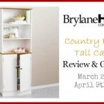 BrylaneHome Country Kitchen Tall Cabinet