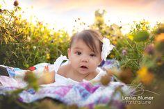 {Blumer Portraiture | Mt. Pleasant, MI Baby Photographer}  www.blumerportraiture.com baby, outside, sunshine
