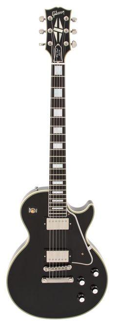 Gibson Custom Shop Electric Guitar Les Paul Custom VOS Ebony 1968 | Rainbow Guitars