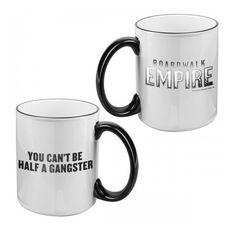 Boardwalk Empire You Can't Be Half a Gangster Mug ($15)