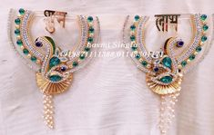Designer Shubh Labh Hanging Labh Contact us : 9871111388 (call & whats app) Visit our Store : Laxmi singla. The Wedding Designers. C ,Saraswati Vihar, Service Lane ,Outer Ring Road, Pitam Pura Diwali Designs, Rangoli Designs, Diwali Diy, Diwali Craft, Hanging Decorations, Diwali Decorations, Engagement Ring Platter, Diwali Lantern, Acrylic Rangoli