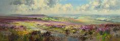 Rex PRESTON-Sunshine and Cloud Shadows, White Edge Moor