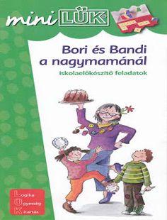 Bori és Bandi a nagymamánál - MiniLÜK Mini, Album, Fictional Characters, Products, Fantasy Characters, Gadget, Card Book