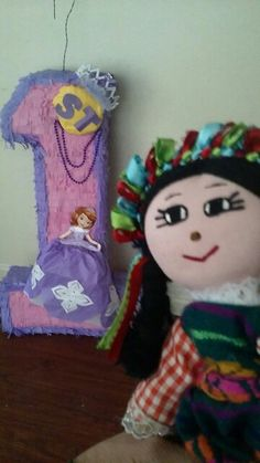 La monita and princess shopia first birthday