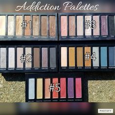 Addiction Eye Palettes by Younique Imyourmascaragirl.com