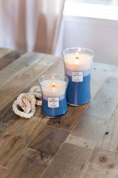 WoodWick Candles Beachfront Cottage Trilogy Candle