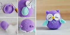 DIY Crocheted Owls Free Patterns3