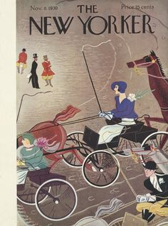 The New Yorker - Saturday, November 8, 1930 - Issue # 299 - Vol. 6 - N° 38 - Cover by : Sue Williams