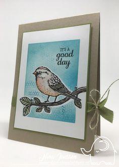 It's a good day- destempelolifant- best birds- birds & blooms thinlits- Stampin'Up!