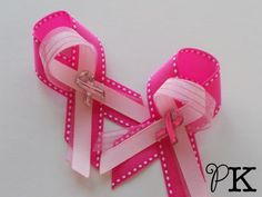 Breast Cancer Awareness Pin by PaperKangaroo on Etsy, $5.00