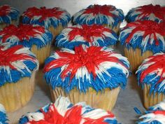 Forth of July Cupcakes