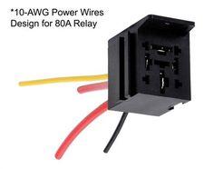 $20AUD Prewired Relay Socket