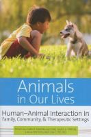 Animals in Our Lives