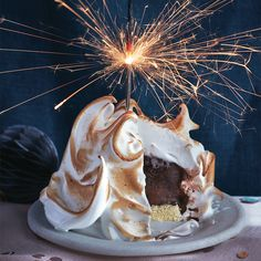 This 70s dessert is back baby! The classic baked Alaska and marshmallow frosting just looks impressive. And tastes even better.