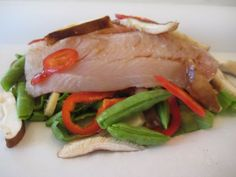 Fish in Parchment Paper on Weelicious