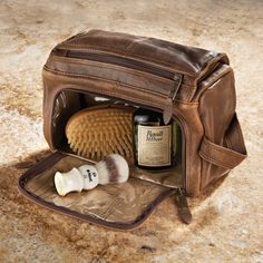 Lambskin Shave Kit - For Gentlemens Grooming Accessories Visit: http://www.bareindulgence.net