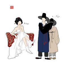 http://3bino3.tumblr.com/post/150774901665/sherlock-hanbok-ver-hanbok-korean-traditional