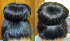 Sock bun by Gabriella Noto