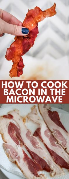 Microwave bacon doesn't stink up your house, is a time saver, and no mess! It's good for any meal, and you don't need any extra ingredients or equipment!