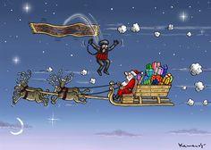 THE WAR OF RELIGIONS, Marian Kemensky,Slovakia,Santa Claus,Terrorism,Christmas,religions