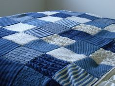Knit It, Grow It, Cook It: Knitted blanket finished.