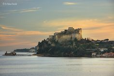 The Castle of Baia, Bacoli, located between sky and sea!