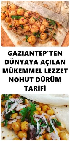 I am sure that you will eat the chickpea wrap recipe which can be breakfast or lunch or dinner for Gaziantep people. Wrap Recipes, Lunch Recipes, Healthy Recipes, Pizza Recipes, Chickpea Wraps Recipe, Turkish Kitchen, Turkish Recipes, Meatloaf Recipes, Mediterranean Recipes