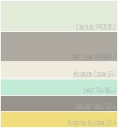 Budget Friendly Master Bedroom makeover featuring a mint, grey and yellow color palette.  Paint Colors - Gratitude PPG 1120-2 | Hot Stone PPG1007-4 | Macaroon Cream 511-1 | Sweet Pea 105-2| Phoenix Fossil 517-5 | Forsythia Blossom 212-4