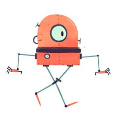 Bot's - James Lancett   Animation & Illustration