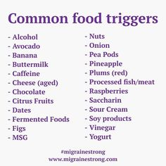 Have chronic migraine and still don't think you have food triggers? Think again. Food triggers can take anywhere from 2 to to rear their ugly head! So how do you sort out which food trigger is…More Migraine Trigger Foods, Foods For Migraines, Migraine Triggers, Chronic Migraines, Migraine Relief, Chronic Illness, Chronic Pain, Fibromyalgia, Headache Diet
